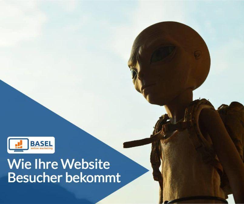 Wie Ihre Website Besucher bekommt