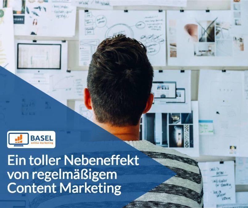 Ein toller Nebeneffekt von regelmäßigem Content Marketing