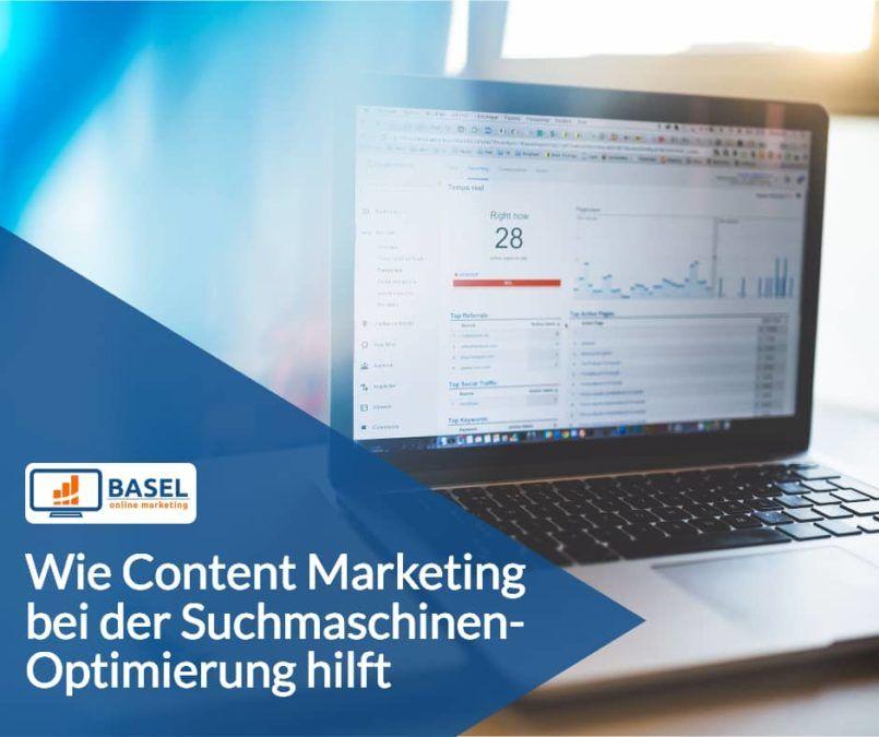 Wie Content Marketing bei der Suchmaschinen-Optimierung hilft