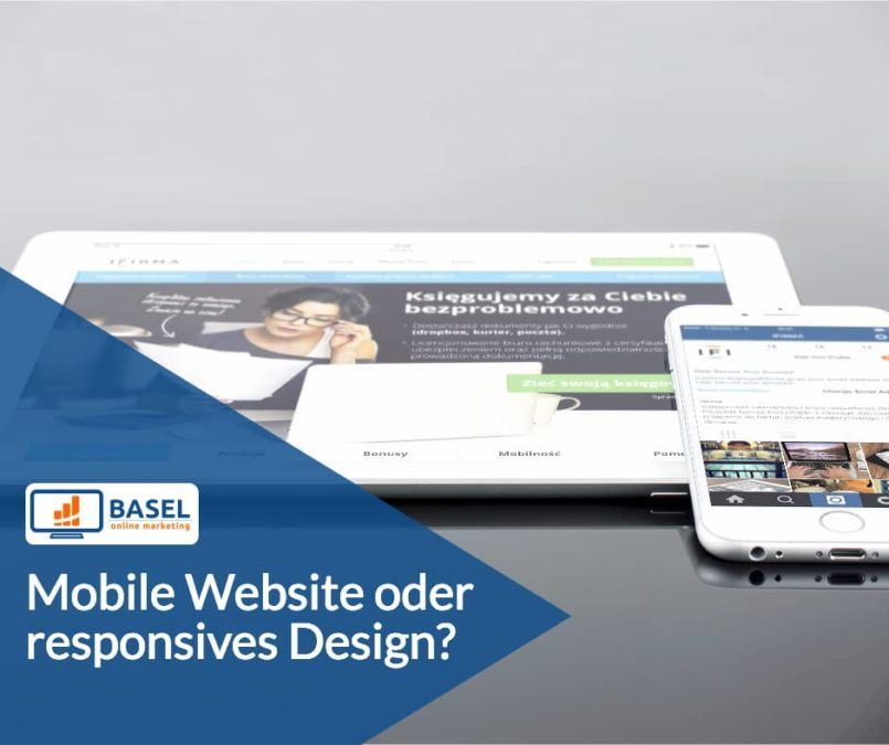 Mobile Website oder responsives Design?