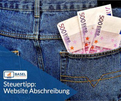 Steuertipp: Website Abschreibung