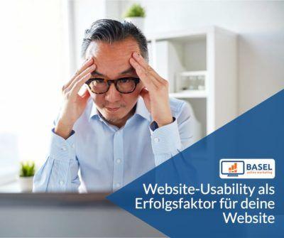 Website-Usability als Erfolgsfaktor für deine Website