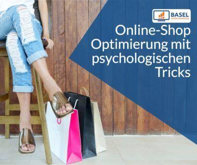 Online-Shop Optimierung mit verkaufspsychologischen Tricks
