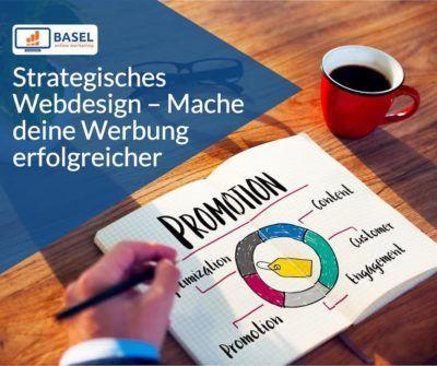 Strategisches Webdesign – Mache deine Werbung erfolgreicher