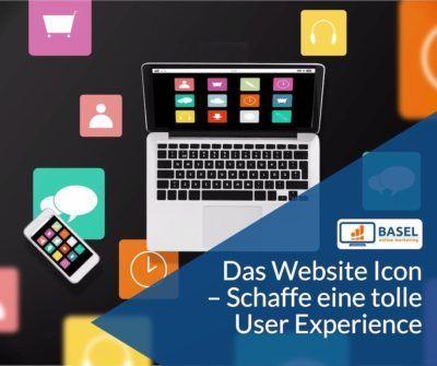 Das Website Icon – Schaffe eine tolle User Experience